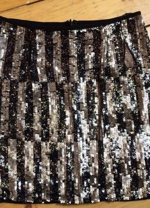 Нарядная юбка на новий год паетки