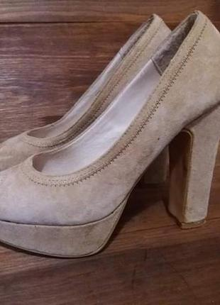 Замшевые туфли zign