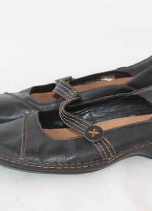 Туфли clarcs, р.40-41, стелька 26.5 см