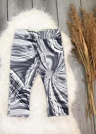 Atmosphere work out штаны шорты спортивные капри красивые мраморные m 38 10 s 36 8