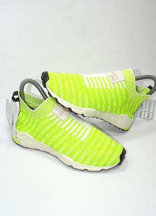 Оригинальные кроссовки adidas eqt support sock primeknit (solar yellow)