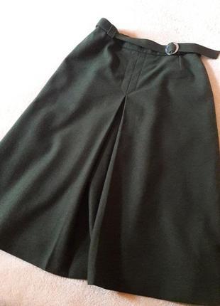 Шикарная шерстяная юбка!