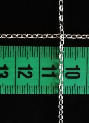 "Серебряная цепочка 44,5 см # серебро 925 "" лот 176"
