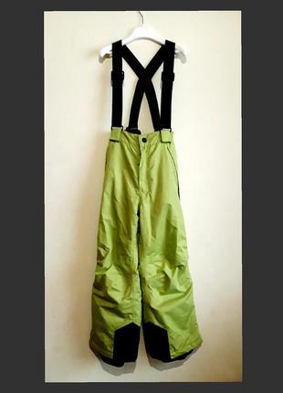 Зимние термо штаны, полукомбинезон crane