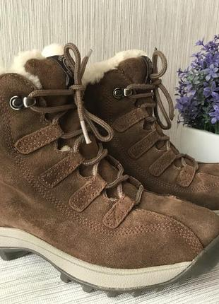 Замшевые ботинки timberland