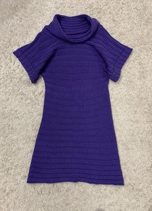 Шикарное тёплое платье от versace