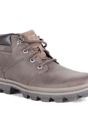 Кожаные ботинки cat, оригинал, р-р 41, стелька 26,5 см