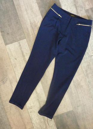 Штаны брюки классические синие reserved