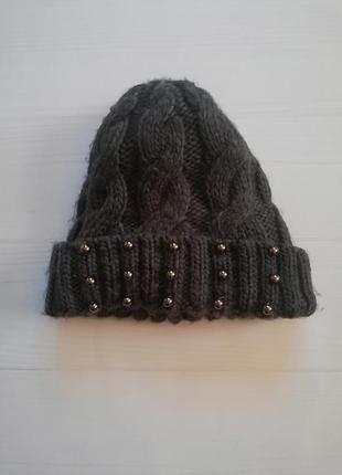 Тепла шапка, шапочка на 2-3 роки