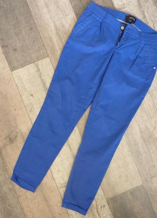 Штаны брюки джинсы котоновые синие новые reserved