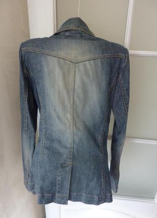 Пиджак жакет джинсовый h&m