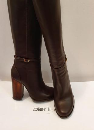 Шкіряні чоботи pier lucci