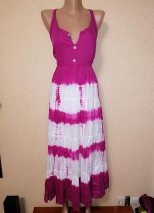 🔥🔥🔥красивый женский легкий летний сарафан, платье батального размера being casual🔥🔥🔥