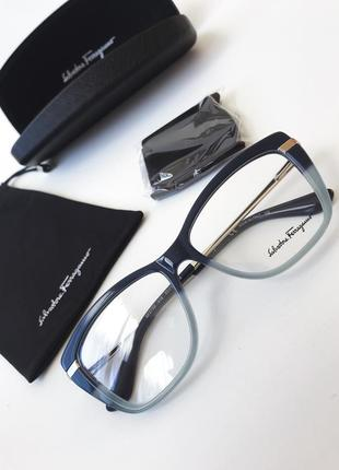 Salvatore ferragamo очки прозрачные линзы