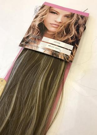 Распродажа!! волосы на заколках-трессы