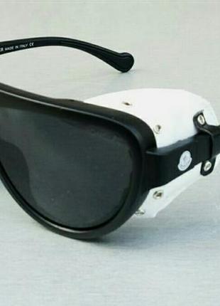 Moncler очки унисекс солнцезащитные с боковыми шторками