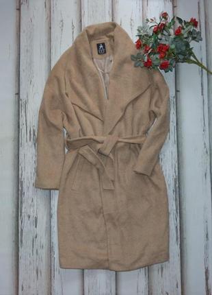 Пальто миди халат на запах atmosphere p l
