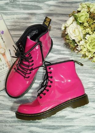 🌿36🌿dr. martens. оригинал. кожа. стильные фирменные ботинки