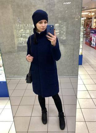 Пальто зимнее шерсть украинского бренда mariolli