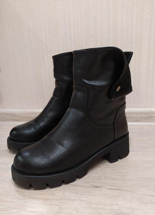 Зимние ботинки сапоги lino morano