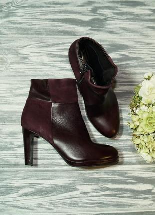🌿36🌿roberto santi. замша. классные ботинки на устойчивом каблуке