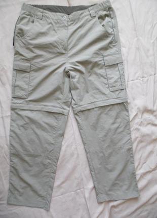 Брюки-шорты в спорт. стиле,  mountainlife размер 16 – идет на 50-52