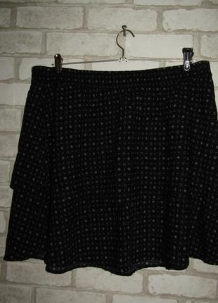 Летняя стройнящая юбка р-р 14-16-18 бренд blue motion
