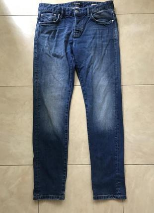 Джинсы firetrap blackseal slim p.32w/32l cotton. 1+1=3🎁