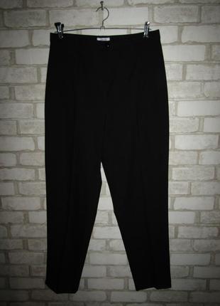 Черные зауженные брюки р-р л-14 новые essentiel