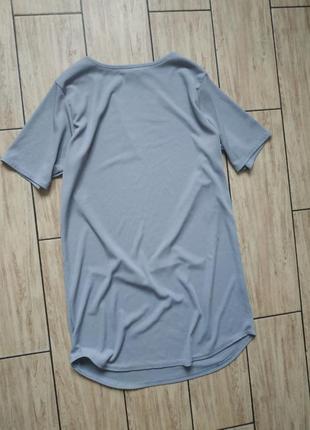 Туника удлиненная футболка укороченное платье