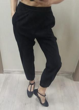 👠  брюки - бананы с лампасами / xs - s - size