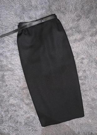 Стильная/классическая/летняя юбочка чёрного цвета! бренд silbor fashion