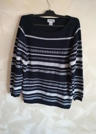 Нарядный оригинальный джемпер,пуловер collection l