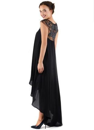 Вечернее коктейльное выпускное платье