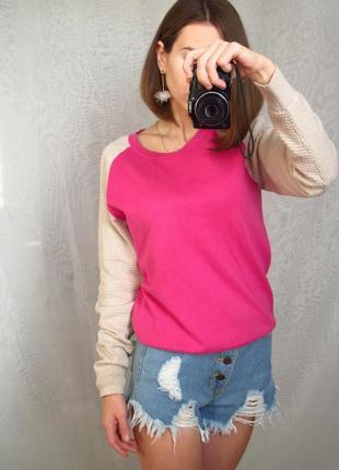Розовая кофта tu