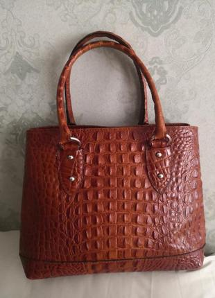Красивая стильная кожаная сумка, италия💥💥💥👜🔥