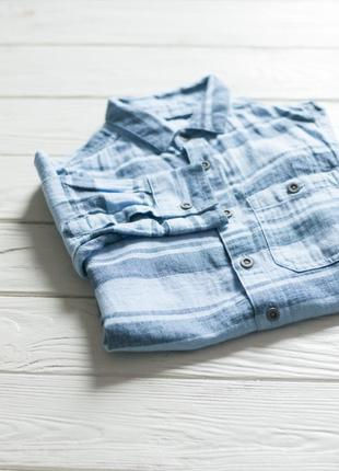 Рубашка с принтом от primark в «елочку»