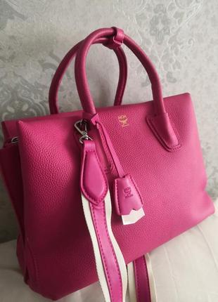 Vip!!!! шикарнейшая брендовая сумка mcm, munchen🔥🔥🔥🔥👜