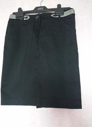 Классическая прямая юбка mango