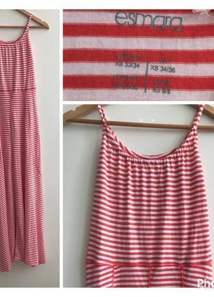 Платье в пол esmara, размер xs #41 1+1=3🎁