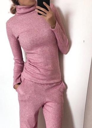 Гольф розовый