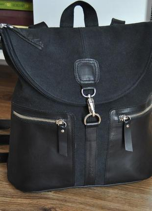 Кожаный рюкзак рюкзак kavekanem / кожаная сумка / шкіряний рюкзак