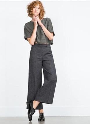 Штаны / кюлоты / укороченые брюки / кашемир
