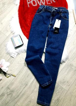 Крутые джинсы mom  stradivarius