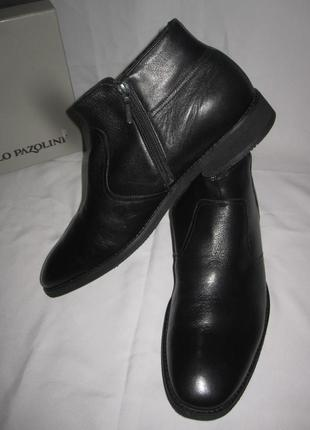 Ботинки carlo pazolini на натуральной овчине раз 45