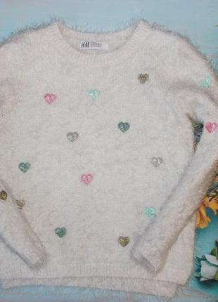 Шикарный свитер травка h&m на 4-6л