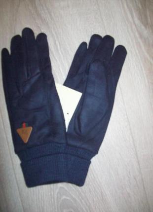 Перчатки под замш внурти мех