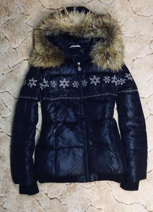 Куртка зимняя пуховая