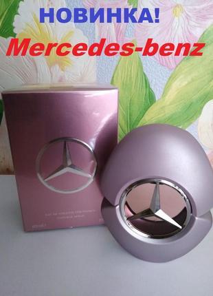 Mercedes-benz woman духи оригинал, туалетная вода женская мерседес бенц, парфуми