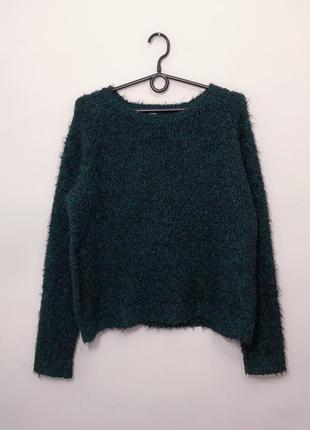 Тёплый стильный свитер 14/42